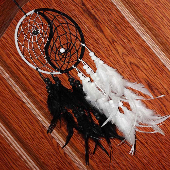 Hippie Yin Yang Dreamcatcher