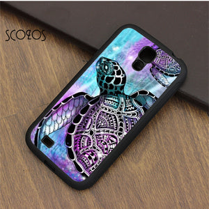 Tie Dye Turtle Phone Case For samsung galaxy S3 S4 S5 S6 S7 S8 S6 edge S7 edge note 3 note 4 note 5