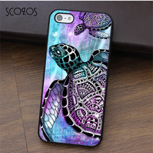 Tie Dye Turtle Phone Case For iphone X 4 4s 5 5s Se 5C 6 6s 7 8 6&6s plus 7 plus 8 plus