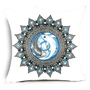 Bohemia Abstract Geometry Cushion Cover