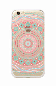 Vintage Mandala Floral Phone Cases For iPhone 7 Plus 7 6 Plus 6 6S 5 5S 8 8 Plus X 1