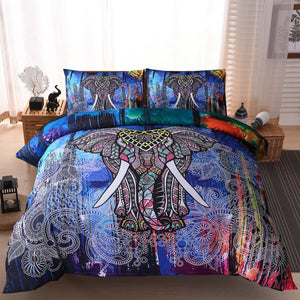 3D Elephant Bedding Set High Quality Indian Comforter bedding sets 6 Different Designs