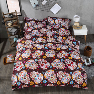 Elephant, Horse, Skulls,Mandala Bed Set Covers King, Queen And Twin Sizes