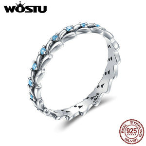 High Quality 925 Sterling Silver Treading Wave Rings For Women Fashion  S925 Party Jewelry