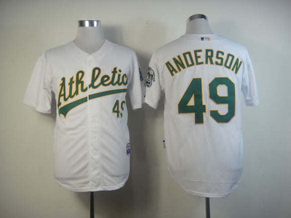 Oakland Athletics | White