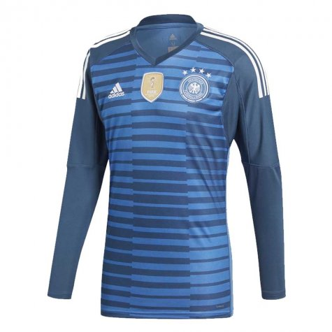 Germany | World Cup Blue GK Kit 18/19 | Long Sleeves