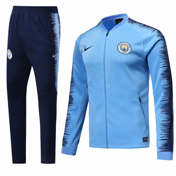 Man City | Blue | Training Tracksuit 18/19