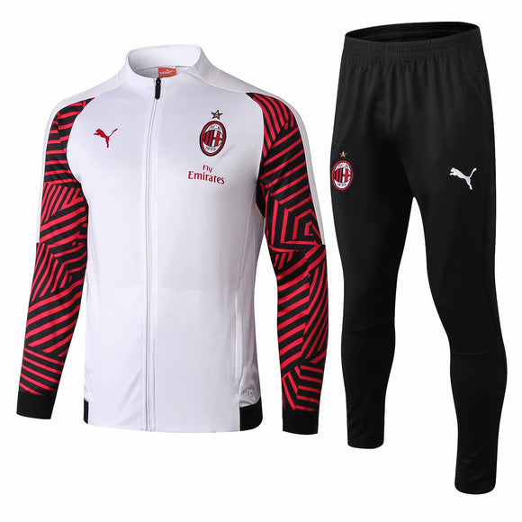 AC Milan | White Training Tracksuit 18/19