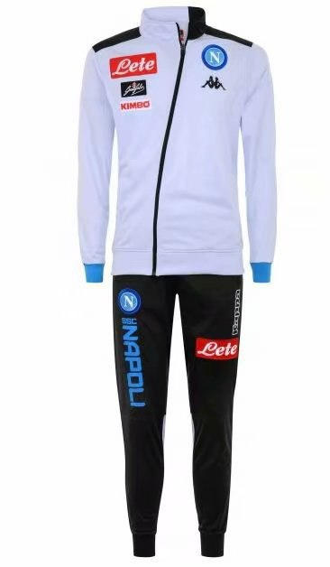 Napoli | White Type A Training Tracksuit 18/19