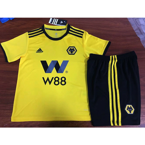Wolves | Wolverhampton | Kids | Home Kit 18/19