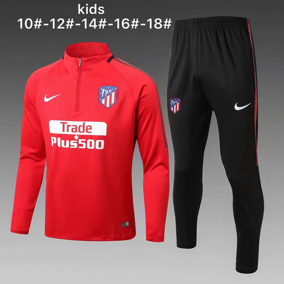 Atletico Madrid  | Red Kids Training Top + Pants 17/18