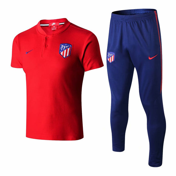 Atletico Madrid  | Red Top + Pants Training Suit 18/19