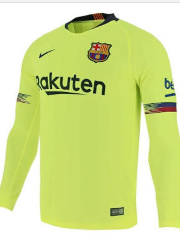 Barcelona | Away Kit 18/19 | Long Sleeves