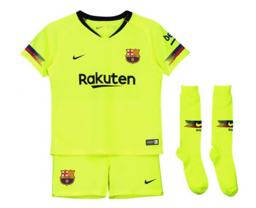 Barcelona | Kids | Away Kit 18/19