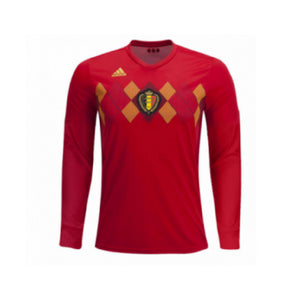 Belgium | Home Kit 17/18 | Long Sleeves