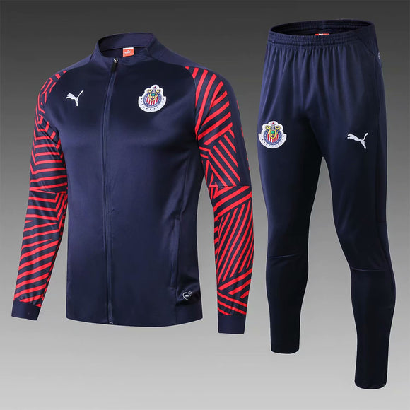 C.D. Guadalajara | Dark Blue Training Tracksuit 18/19