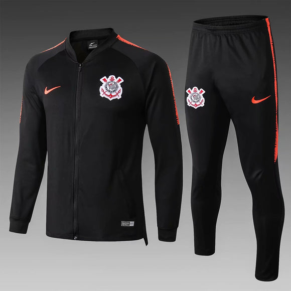 Corinthians | Black Training Tracksuit 18/19