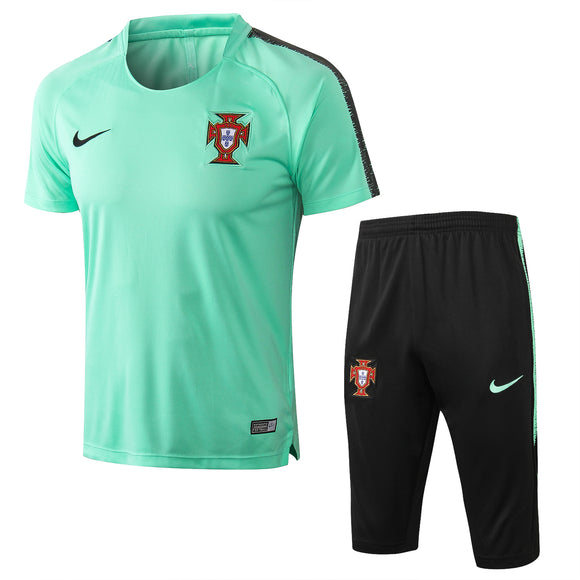 Portugal | Green Short Training Suit 17/18