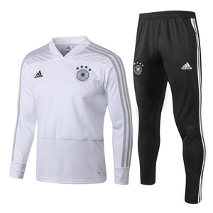 Germany | White - V Collar | Training Top + Pants 18/19