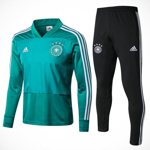 Germany | Green - V Collar | Training Top + Pants 18/19