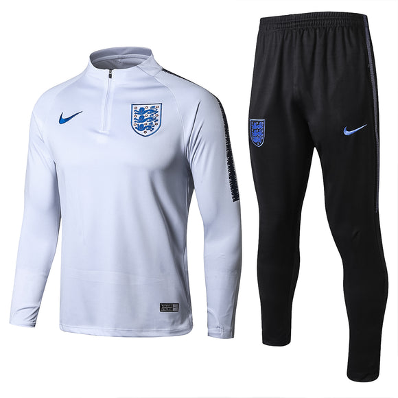 England | White Type A Training Top + Pants 18/19