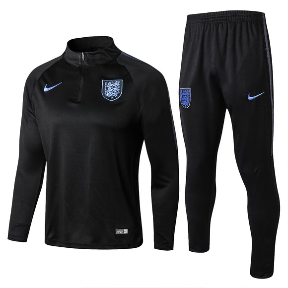 England | Black Type A | Training Top + Pants 18/19