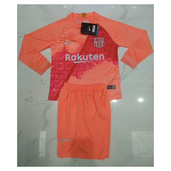 Barcelona | Kids Long Sleeves | Third Kit 18/19