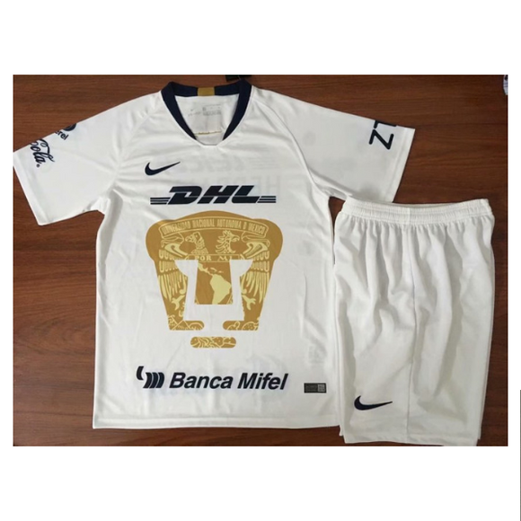 Club Univerzidad Nacional | Pumas UNAM  | Kids | Home Kit 18/19