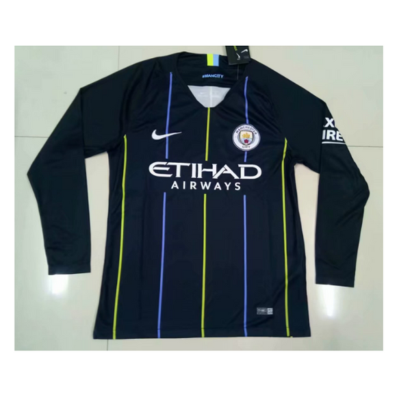 Man City | Away Kit 18/19 | Long Sleeves