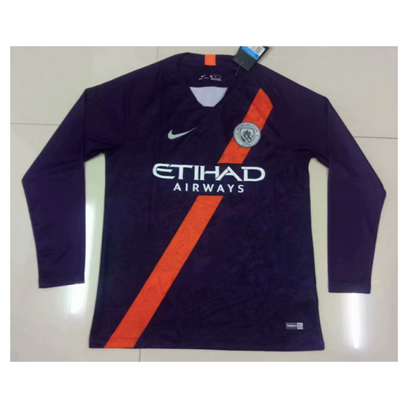 Man City | Third Kit 18/19 | Long Sleeves