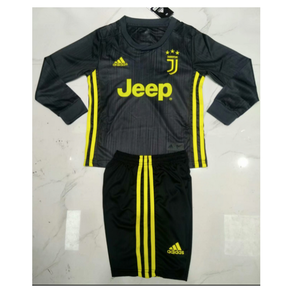 Juventus | Kids Long Sleeves | Third Kit 18/19