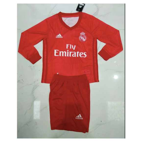 Real Madrid | Kids Long Sleeves | Third Kit 18/19