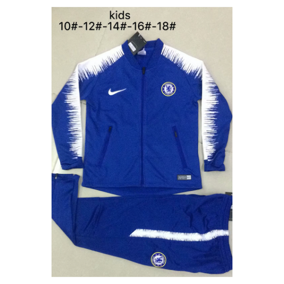 Chelsea | Kids Training Tracksuit 18/19