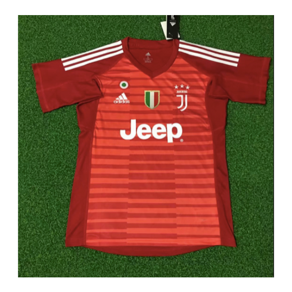 Juventus | Red GK Kit 18/19