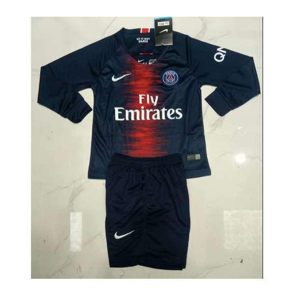 PSG | Kids Long Sleeves | Home Kit 18/19