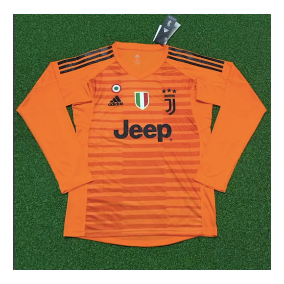Juventus | Orange GK Kit 18/19 | Long Sleeves