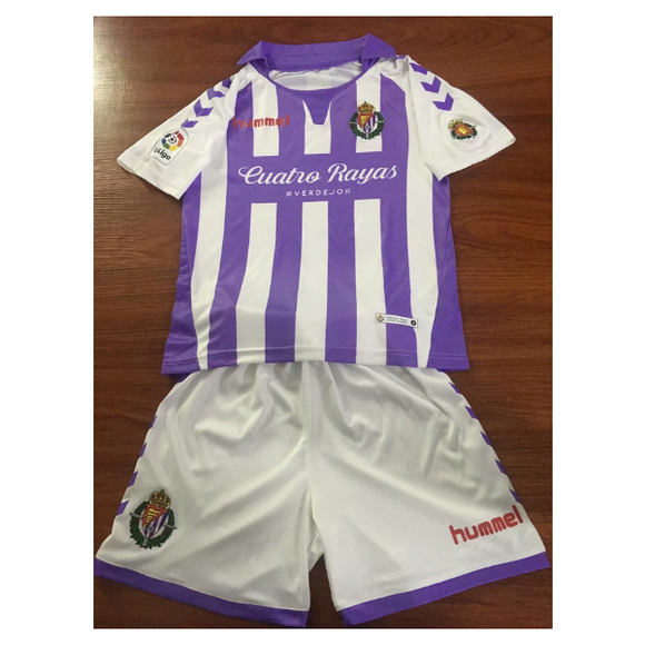 Real Valladolid C F | Kids | Home Kit 18/19