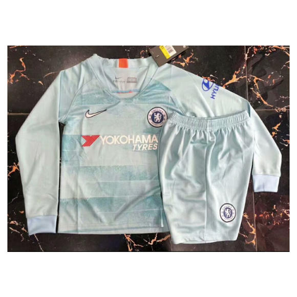 Chelsea | Kids Long Sleeves | Third Kit 18/19