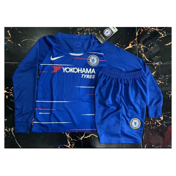 Chelsea | Kids Long Sleeves | Home Kit 18/19