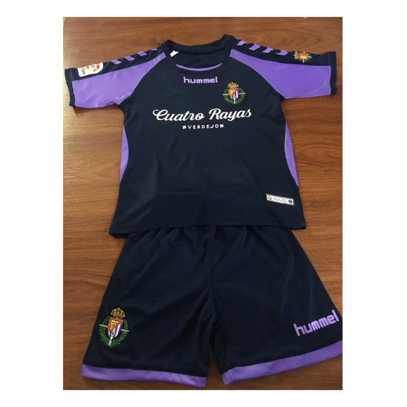Real Valladolid C F | Kids | Away Kit 18/19