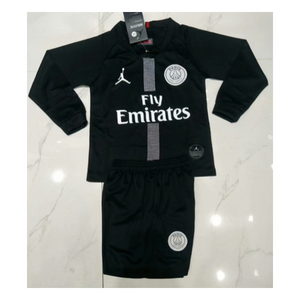 eb7f276fda6 PSG | Jordan Blacks | Kids Long Sleeves 18/19 – Cheap Soccer Jersey