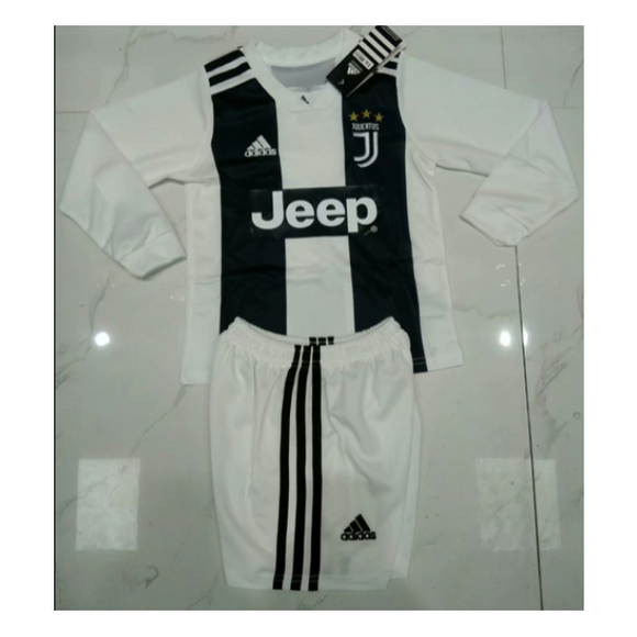 Juventus | Kids Long Sleeves | Home Kit 18/19