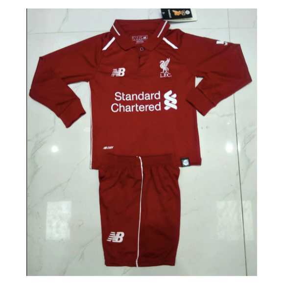 Liverpool | Kids Long Sleeves | Home Kit 18/19