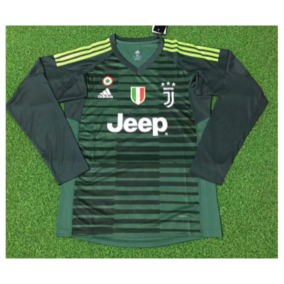 Juventus | Green GK Kit 18/19 | Long Sleeves