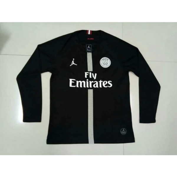 808311b0b87 PSG | Jordan Black 18/19 | Long Sleeves – Cheap Soccer Jersey