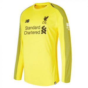 Liverpool | Home GK Kit 18/19 | Long Sleeves