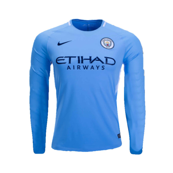 Man City | Home Kit 17/18 | Long Sleeves