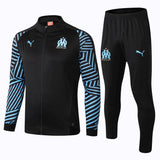 Marseille | Black Training Tracksuit 18/19