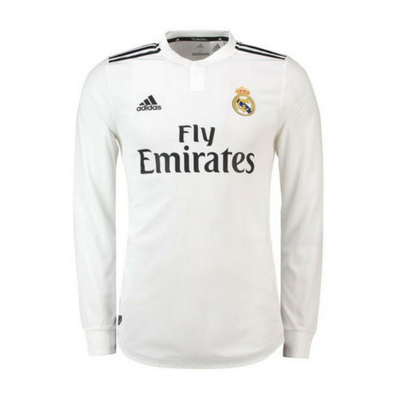 Real Madrid | Home Kit 18/19 | Long Sleeves