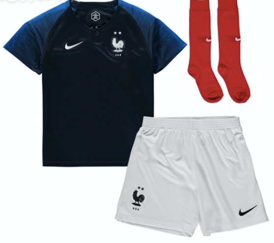 France | Kids | Home Kit 17/18